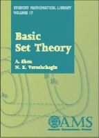 Cover image for Basic set theory