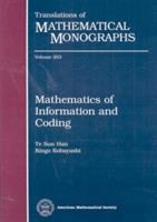 Cover image for Mathematics of information and coding