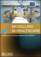 Cover image for Modelling in healthcare