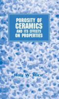 Cover image for Porosity of ceramics