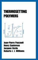 Cover image for Thermosetting polymers