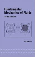 Cover image for Fundamental mechanics of fluids