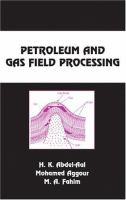 Cover image for Petroleum and gas field processing