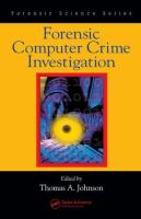 Cover image for Forensic computer crime investigation