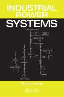 Cover image for Industrial power systems