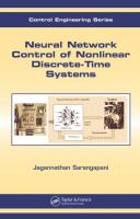Cover image for Neural network control of nonlinear discrete-time systems