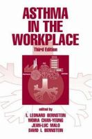 Cover image for Asthma in the workplace, and related conditions