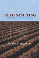 Cover image for Field sampling:  principles and practices in environmental analysis