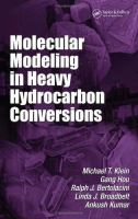 Cover image for Molecular modeling in heavy hydrocarbon conversions