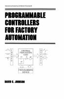 Cover image for Programmable controllers for factory automation