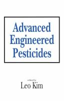 Cover image for Advanced engineering pesticides