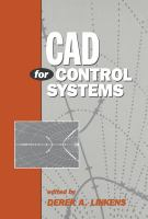 Cover image for CAD for control systems