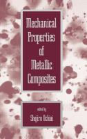 Cover image for Mechanical properties of metallic composites