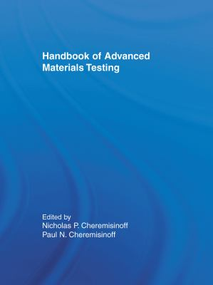 Cover image for Handbook of advanced materials testing