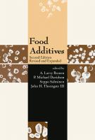 Cover image for Food additives