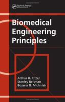 Cover image for Biomedical engineering principles