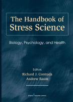Cover image for The handbook of stress science : biology, psychology, and health