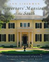 Cover image for Governors' mansions of the South