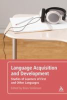 Cover image for Language acquisition and development : studies of learners of first and other languages