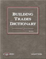 Cover image for Building trades dictionary
