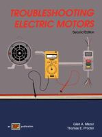 Cover image for Troubleshooting electric motors