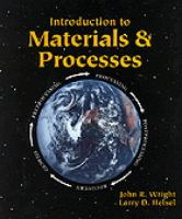 Cover image for Introduction to materials and processes