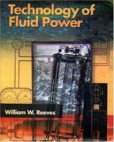 Cover image for Technology of fluid power