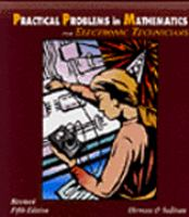Cover image for Practical problems in mathematics for electronics technicians