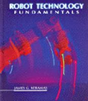 Cover image for Robot technology fundamentals