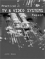 Cover image for Practical TV and video system repair