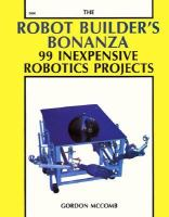 Cover image for The robot building's bonanza : 99 inexpensive robotics projects