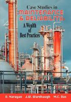 Cover image for Case studies in maintenance & reliability: a wealth of best practices