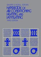 Cover image for Handbook of air conditioning, heating and ventilating