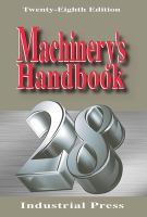 Cover image for Machinery's handbook 28