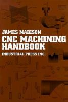 Cover image for CNC machining handbook : basic theory, production data and machining procedures