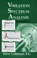 Cover image for Vibration spectrum analysis :  a practical approach