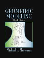 Cover image for Geometric modeling