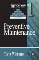 Cover image for Preventive maintenance