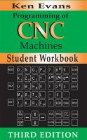 Cover image for Student workbook for programming of CNC machines