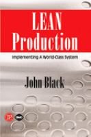 Cover image for Lean production : implementing a world class systems