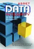 Cover image for Asset data integrity is serious business