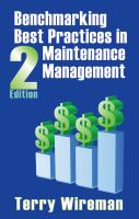 Cover image for Benchmarking best practices in maintenance management