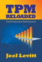 Cover image for TPM reloaded : total productive maintenance
