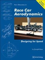 Cover image for Race car aerodynamics :  designing for speed