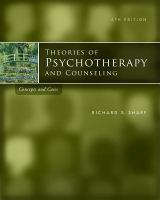Cover image for Theories of psychotherapy and counseling : concepts and cases