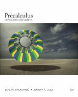 Cover image for Precalculus : functions and graphs