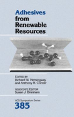 Cover image for Adhesives from renewable resources