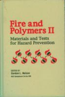 Cover image for Fire and polymers II : materials and tests for hazard prevention