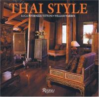 Cover image for Thai style