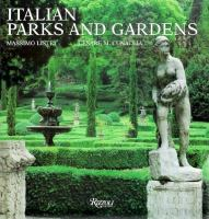 Cover image for Italian parks and gardens
